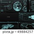 情報パネル perming3DCGイラスト素材 49884257
