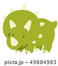 トリケラトプス アウトラインなし 49884983