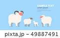 群れ 動物 国内産のイラスト 49887491