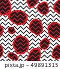 Abstact seamless pattern. Dotted line ornament 49891315