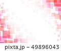 四角 四角形 ピンク色のイラスト 49896043