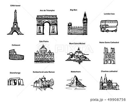 ヨーロッパの観光地-ピクト 49908756