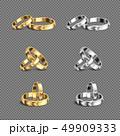 セット 組み合わせ ウェディングのイラスト 49909333