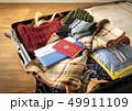 スーツケース 海外旅行保険付クレジットカード 冬 旅行 出張 パスポート セーター 49911109