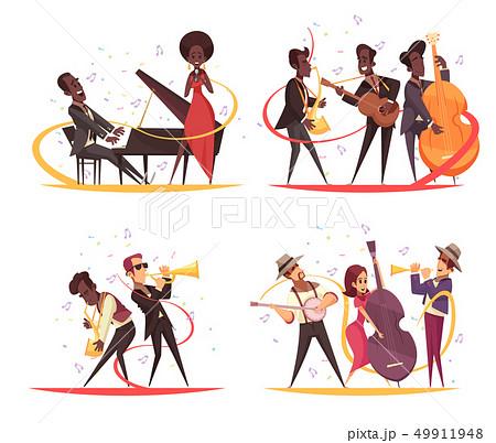 Jazz Musicians Design Concept 49911948