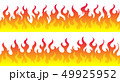 Fire flame frame borders 49925952