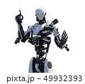 人型ロボット perming3DCGイラスト素材 49932393