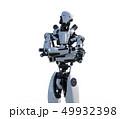 人型ロボット perming3DCGイラスト素材 49932398