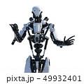 人型ロボット perming3DCGイラスト素材 49932401