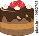 ベクター ホールケーキ スイーツのイラスト 49932795