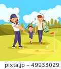 GOLF ゴルフ ベクトルのイラスト 49933029