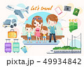 cute cartoon family 49934842