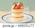 ホットケーキ パンケーキ デザートの写真 49935177