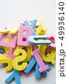 アルファベット ブロック 文字の写真 49936140