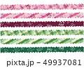 6月のパターン柄 ギザギザライン 49937081