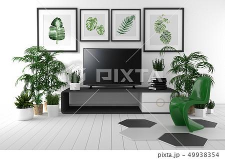 Room Design Japanese-style.3D rendering 49938354