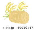 米 白米 稲のイラスト 49939147
