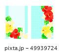 花 ハイビスカス プルメリアのイラスト 49939724