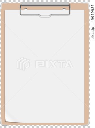 传染媒介例证设计ai eps营业所文具办公用品剪贴板 49939985