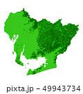 愛知県地図 49943734