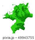 福岡県地図 49943755