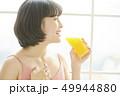 女性 若い女性 ダイエットの写真 49944880
