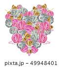 スレッド 毛糸 糸のイラスト 49948401