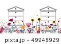 ハチの巣 蜂の巣 農業のイラスト 49948929