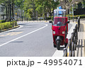 街のデリバリーバイク 49954071