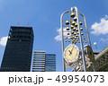 シンボルの時計とベルとビル 49954073