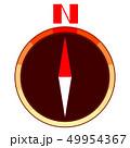 羅針盤(コンパス) 方角 文字 49954367