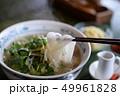 フォー ベトナム料理 麺類 ライスヌードル パクチー コリアンダー 香草 ハーブ 魚醤 スパイス 49961828