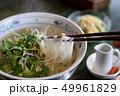 フォー ベトナム料理 麺類 ライスヌードル パクチー コリアンダー 香草 ハーブ 魚醤 スパイス 49961829