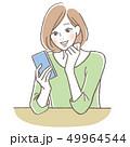 携帯電話 女性 49964544