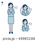 calm type suit business woman_sigh 49965288