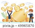 土手 銀行 岸のイラスト 49965870