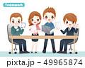 ビジネス 人々 人物のイラスト 49965874