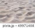 風紋 砂 砂浜の写真 49971408