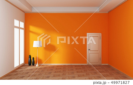 Empty room interior japanese style. 3d rendering 49971827