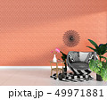 アームチェア アームチェアー インテリアのイラスト 49971881