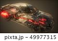 車 自動車 排気のイラスト 49977315