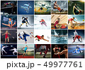 Collage about different kind of sports 49977761