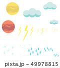 天体 天気 セット 49978815