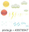天体 天気 セット 49978947