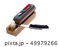 Sharpener stone and knife 49979266