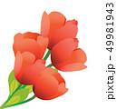 花 花束 お花のイラスト 49981943
