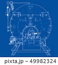 立体 3D 3Dのイラスト 49982324