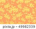 Seamless tropical palms pattern. Summer endless 49982339