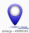 アイコン イコン マーカのイラスト 49990165