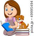 ブック 書籍 本のイラスト 49995494